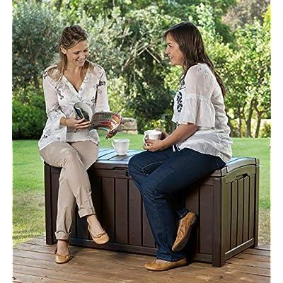 Keter Glenwood Patio Cushion Box
