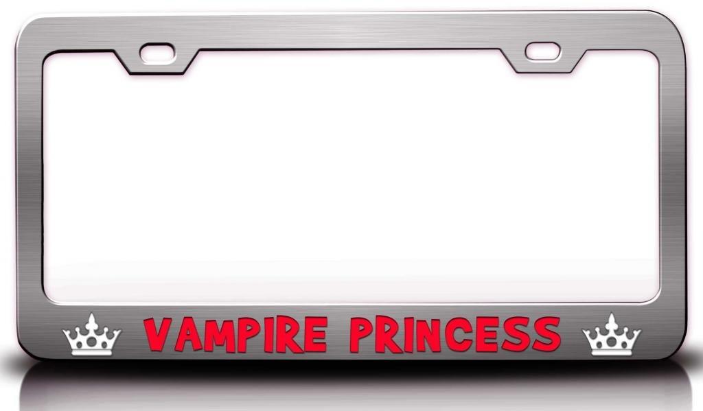 Vampir Prinzessin Princess Girly Girl Stahl Metall Nummernschild ...