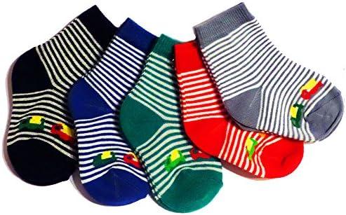 Weri Spezials Baby und Kinder Socke 5er Pack für Jungen 'Autos' im 5er Set Baumwolle