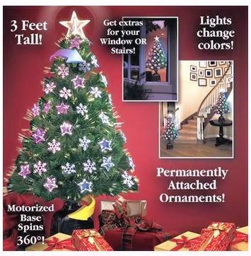 amazon com 36 rotating color changing christmas tree with