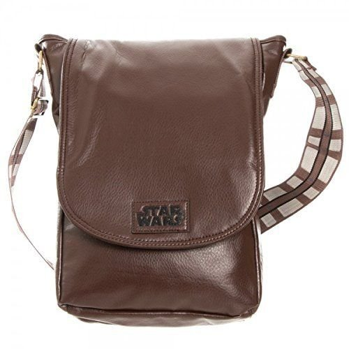 Star Wars Purse (Star Wars Chewy Brown Mini Messenger Bag [Bioworld])
