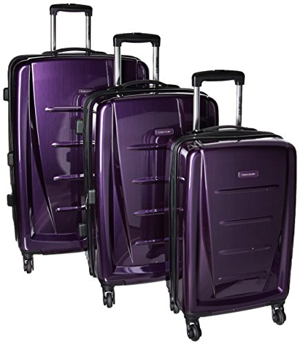 Purple Luggage Sets - 4
