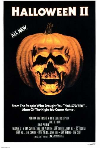 Halloween 2: The Nightmare Isn't Over! Movie Poster (11 x 17 Inches - 28cm x 44cm) (1981) Style A -(Jamie Lee Curtis)(Donald Pleasence)(Jeffrey Kramer)(Charles Cyphers)(Lance Guest) -