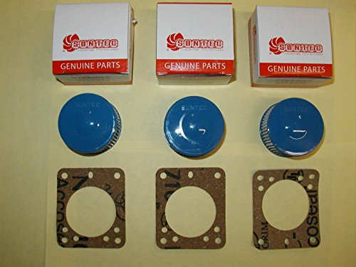 NEW 3 SUNTEC Strainer Kits, Beckett Oil Burner Pump Incds Gasket A2VA7116 A2EA6520