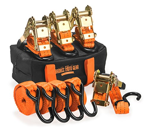Badass Heavy Ratchet Straps Padded