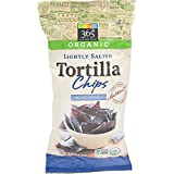 365 Everyday Value, Organic Lightly Salted Tortilla Chips, Blue Corn, 16 Ounce
