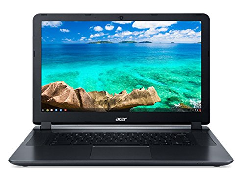 "Acer 15.6"" Chromebook Celeron N3060 Dual-Core 1.6GHz 2GB RAM 16GB Flash ChromeOS (Certified Refurbished)"