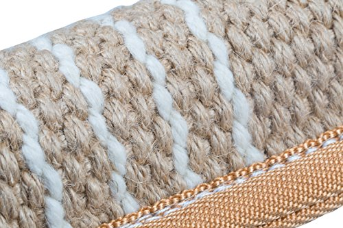 K9to5 Gear Dog Tug Toy Bite Pillow - Strong Dog Pull Toy with Tough Jute, 2 Rope Handles by K9to5 Gear (Image #4)