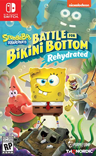 Spongebob Bikini Bottom - Spongebob Squarepants: Battle for Bikini Bottom - Rehydrated - Nintendo Switch
