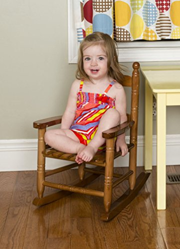 Rocking Chair Natural (Jack-Post KN-10N Classic Child's Porch Rocker Natural Laquer Oak)