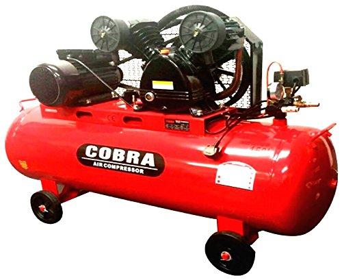 COBRA 150 LITRE 150L TWIN BELT DRIVE 240V 4HP 14 CFM V ENGINE AIR COMPRESSOR: Amazon.co.uk: DIY & Tools