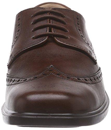 Padders Riley - brogue con cordones de cuero hombre marrón - Brown (Antique Brown)