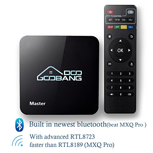 2017 Newest Model GooBang Doo Master Android 5.1 TV Box with Unique GooBang Doo Server(OTA) and True 4K Playing (Digital Media Server compare prices)