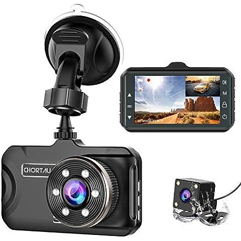 Dual Dash Cam,EACHPAI X100 Pro Camera for Cars 1920X1080P Dashboard Sony Sensor