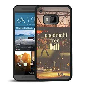 Provide Personalized Customized Goodnight Tree Hill Black Plastic HTC ONE M9 Protective Case