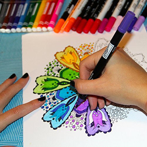 Amazoncom Adult Coloring Book Color Your Way To BALANCE Premium