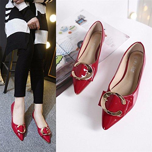 Para De Red Zapatos Mujer YUCH Zapatos Cómodos UqZIEH
