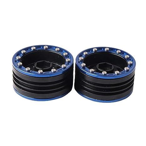 1/10 - Juego de llantas de aluminio de alta calidad para RC 1:10 de camiones y de rock (1,9