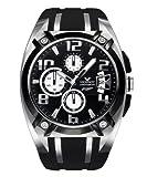 Viceroy 47551-15 - Reloj de caballero de cuarzo, correa de goma color negro