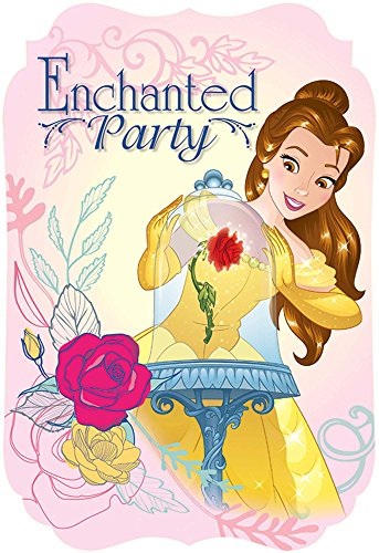 Postcard Invitations | Disney© Beauty and The Beast Collection | Party Accessory]()