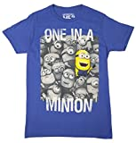 Despicable Me 2 - One in a Minion - T-Shirt (Large, Blue)