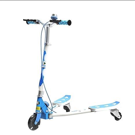 Scooter Patinete para niños con Altura Ajustable y Freno ...
