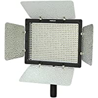 YONGNUO YN-600, 3200K - 5500K Color Temperature LED Video Light for Camcorder or DSLR Cameras