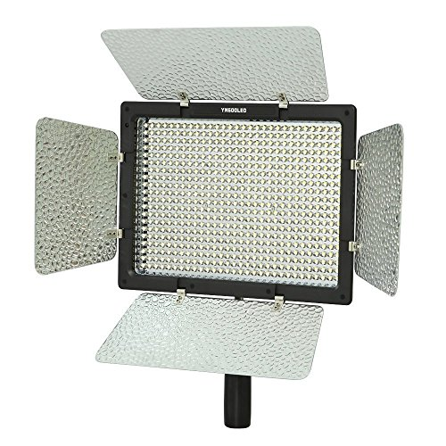 YONGNUO YN-600, 3200K - 5500K Color Temperature LED Video Light for Camcorder or DSLR Cameras by Yongnuo