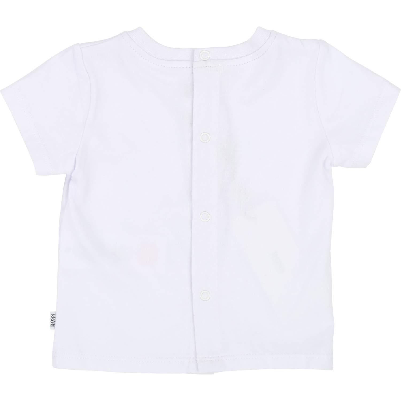 BOSS Hugo Baby T-Shirt Bus mit Logo Wimpel