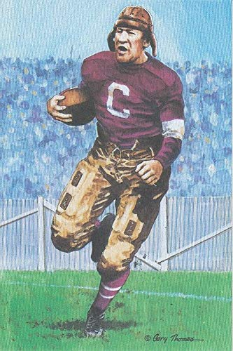Jim Thorpe Goal Line Art Card Canton Bull Dogs Serie One