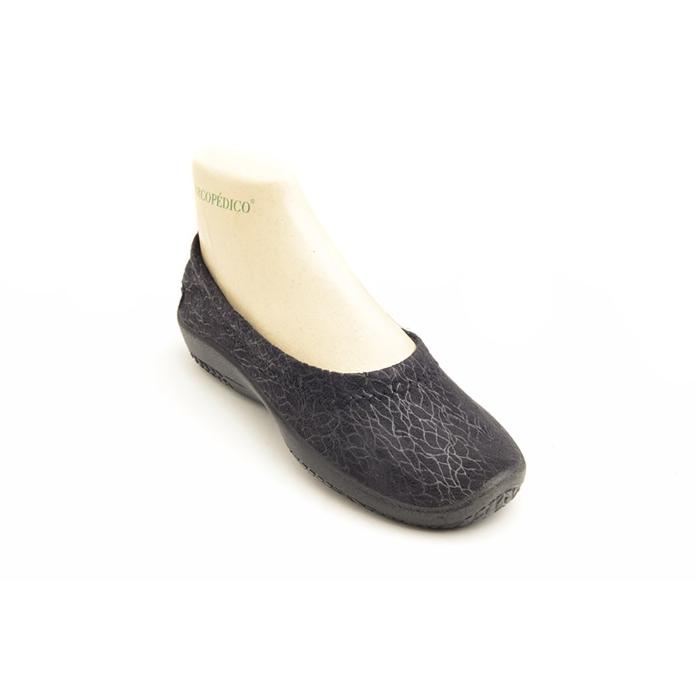 Arcopedico 4451 L15D Womens Flats Shoes B01M0ZXPZV 42 EU|Olas Black