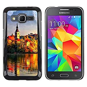iKiki Tech / Estuche rígido - Sunset Beautiful Nature 95 - Samsung Galaxy Core Prime SM-G360
