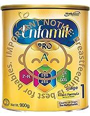 Enfamil Pro A+ Stage 1 PWD Infant Milk Formula, 0-12 months, 900g