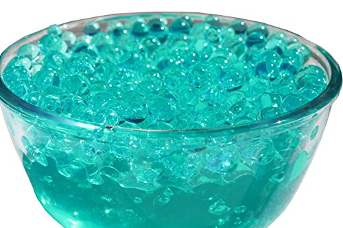 SHEING 5000-Piece Transparent Reusable Water Beads Gel, Jade Green Green Jade Pieces