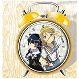 Ore No Imouto Ga Konna Ni Kawaii Wake Ga Nai Anime Colorful Design Twin Bell Alarm Clock, Yellow