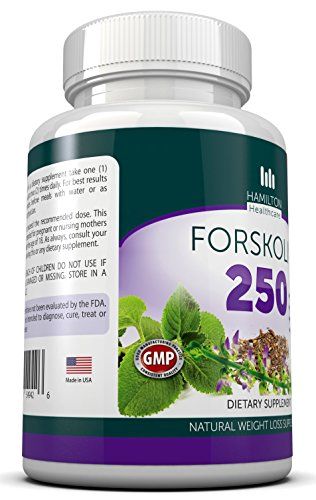 Hamilton-Healthcare-Forskolin-250mg-Fat-Burner-Coleus-Appetite-Suppressant-and-Weight-Loss-Supplement-120-Count