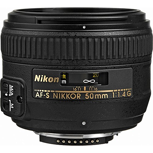 Nikon AF-S NIKKOR 50mm f/1.4G Lens with Creative Filter Kit and Pro Cleaning Accessories