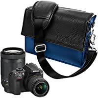 Digital SLR / DSLR Professional Camera Messenger Bag for Canon, Nikon, Sony, Panasonic, Olympus, Mirrorless, Compact system, Hybrid, High Zoom Cameras, Lens and Accessories