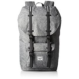 Herschel Supply Co. Little America Backpack 24 pockets: 1 slip, 1 exterior Pockets: 1 exterior