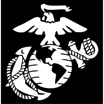 Amazoncom US Marine Corps Car Decal  Sticker Automotive - Car decal stickers
