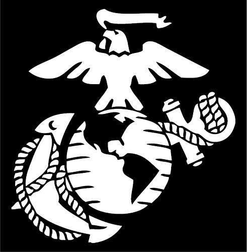 marine corps window decal - 5