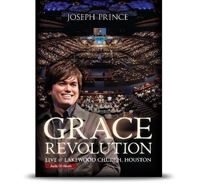 (Joseph Prince Grace Revolution Live @ Lakewood Church, Houston.Audio CD - Album. (Three Compact Disc Set))