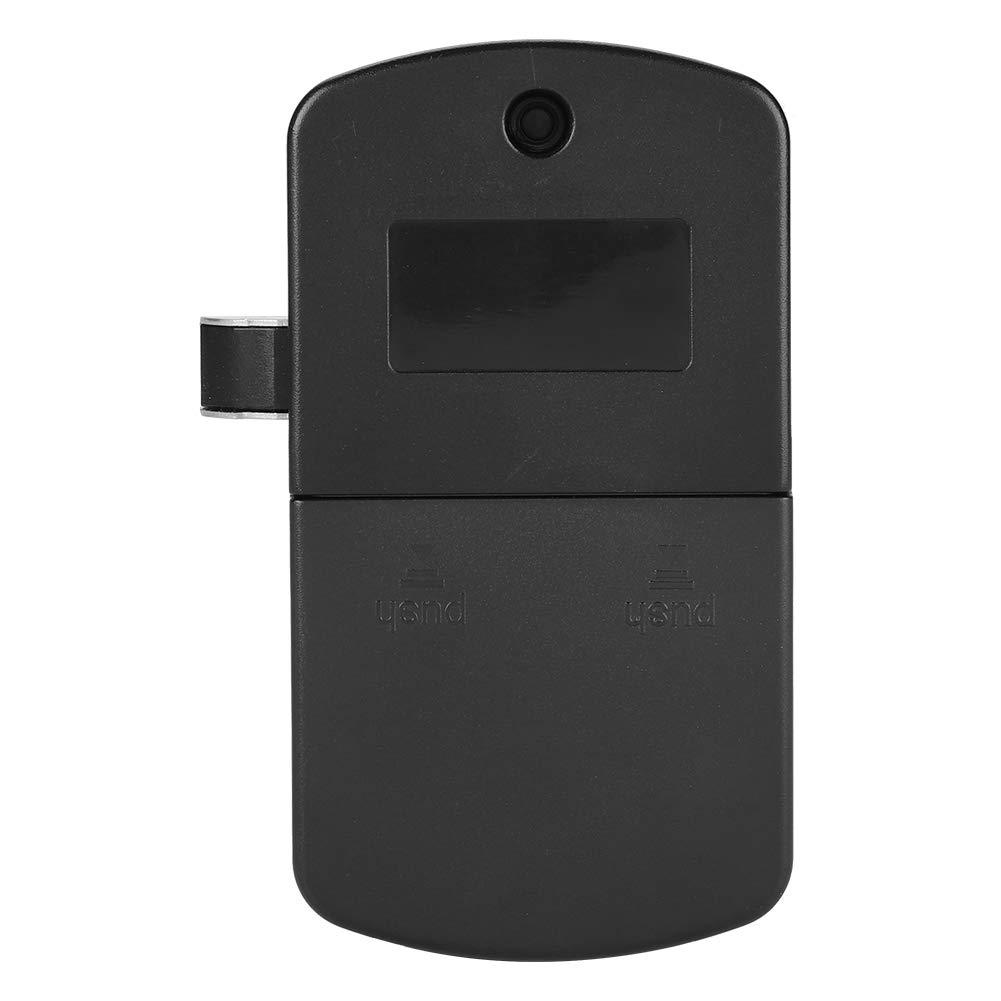 Jacksking Elektronisches Tastenfeld Tastaturschloss Elektronisches digitales Passwort-Nummernschloss aus Edelstahl Schranktür-Code-Schloss