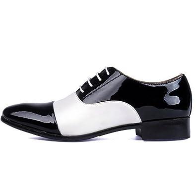 51ed4fd0f089b Men Designers Luxury Fashion Dress Casual Formal Wedding Business White  Black Zapatos Hombre Oxford Shoes (
