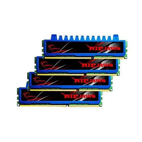 Kit de Memoria Ripjaws com 4X2Gb 240P D3 1600 PC3 12800, G.SKILL, F3-12800CL7Q-8GBRM, 8Gb