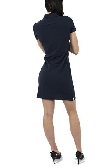 Robe tommy hilfiger dw0dw01711 bleu Bleu Achat Vente