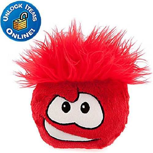 Club Penguin Red Puffle - SAVE $10.00 While Supplies Last - NEW with Tag - 6