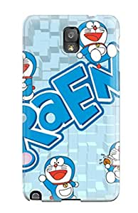 First-class Case Cover For Galaxy Note 3 Dual Protection Cover Doraemon