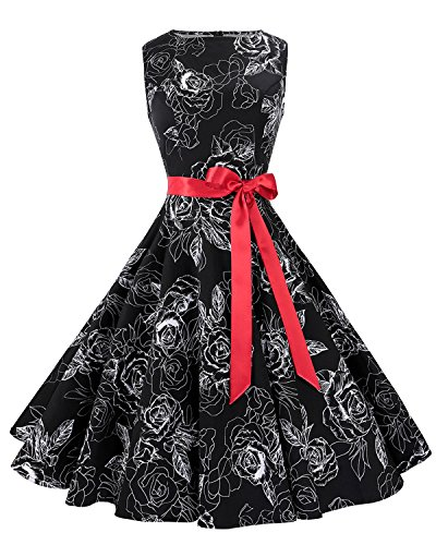 50s vintage rockabilly dress - 3