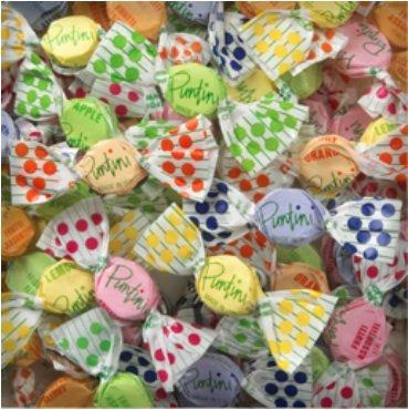 Puntini - Frutti Assortiti - Jujubes -3 bags 3lbs 10oz each (SUGAR)